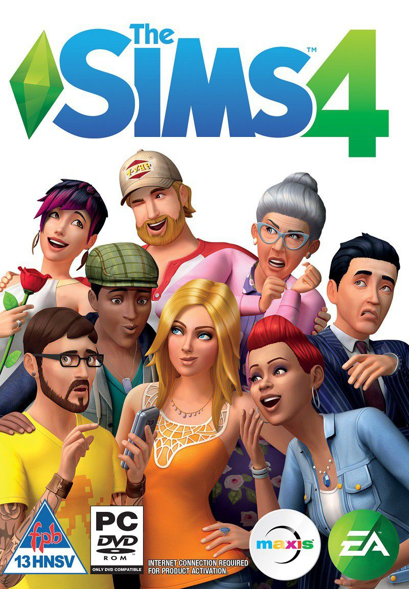 Image result for The Sims 4 cover pc