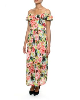 Eve Emporium Maxi Tropical Flora Dress