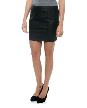 All About Eve Pitch Black Skirt