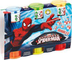 Spiderman Bubbles - 3 Pack