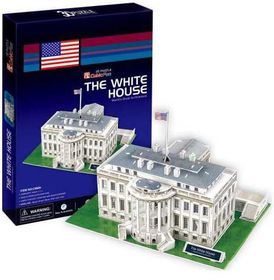 Cubic Fun The White House USA - 64 Piece 3D Puzzle