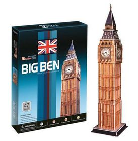 Cubic Fun Big Ben UK - 47 Piece 3D Puzzle