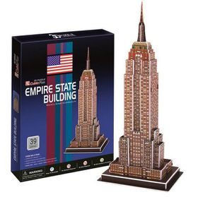 Cubic Fun Empire State Building USA - 39 Piece 3D Puzzle