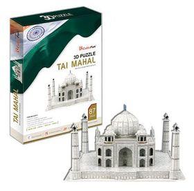 Cubic Fun Taj Mahal India - 87 Piece 3D Puzzle