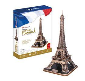Cubic Fun Eiffel Tower France - 82 Piece 3D Puzzle