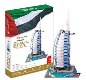 Cubic Fun Burj Al Arab Dubai - 101 Piece 3D Puzzle