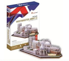 Cubic Fun Westminster Abbey UK - 145 Piece 3D Puzzle