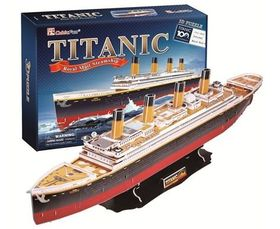 Cubic Fun Titanic Large - 113 Piece 3D Puzzle