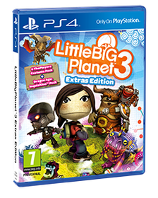 Little Big Planet 3 (PS4) Extras Edition