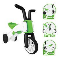 CHILLAFISH Bunzi 2-in-1 Gradual Balance Bike - Lime