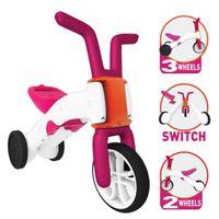 CHILLAFISH Bunzi 2-in-1 Gradual Balance Bike - Pink