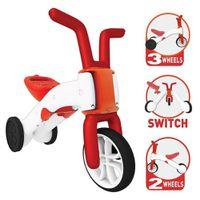 CHILLAFISH Bunzi 2-in-1 Gradual Balance Bike - Red
