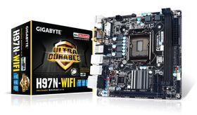 Gigabyte H97N Wifi Haswell Mini ITX Motherboard - Socket 1150