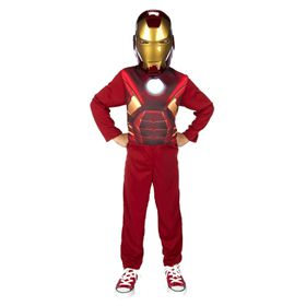 Marvel Iron Man 3 Action Suit in Blister with Mask - (Ages 5-6)