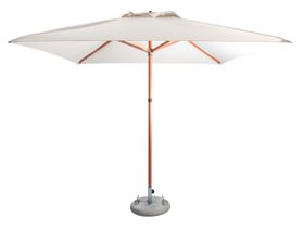 Cape Umbrellas - 2.5m Classic Line Tokai Square Umbrella - Ecru