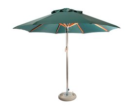 Cape Umbrellas - 3m Octagonal Umbrella - Dark Green