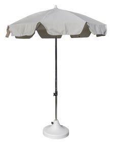 Cape Umbrellas - 2m Cafe Umbrella with Split Pole - Ecru