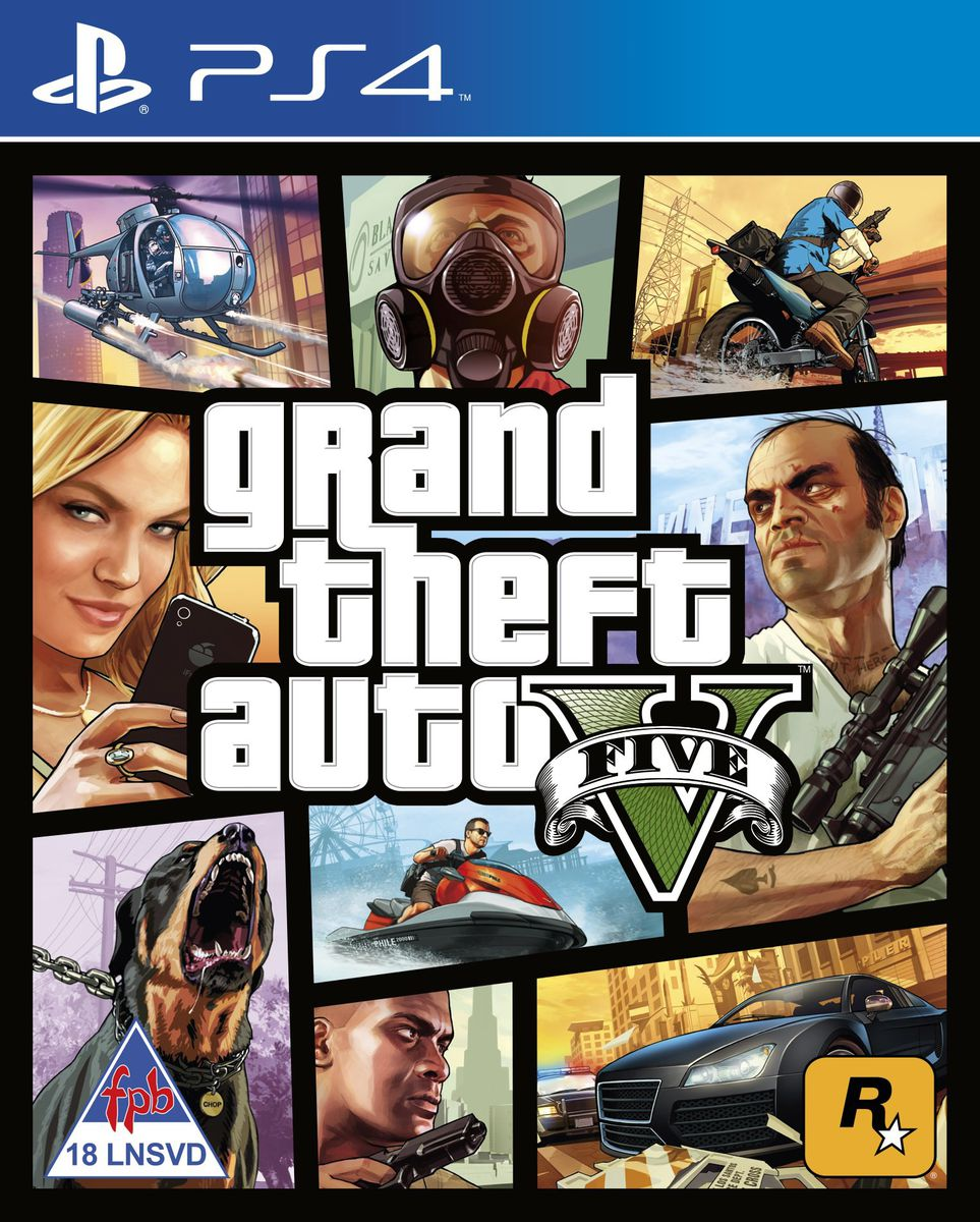 Grand Theft Auto V (PS4) ...