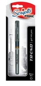 "Scripto Prime ""Trend"" Gel Pen 0.5mm Black Ink"