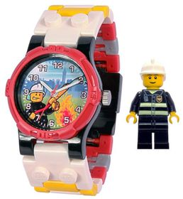 LEGO City Fireman Watch with Minifigure