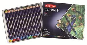 Derwent Inktense Pencils - Tin of 24