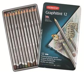 Derwent Graphitint Pencils - Tin of 12