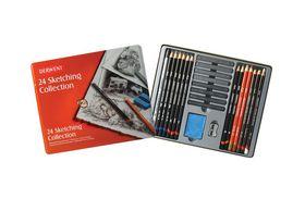 Derwent Sketching Collection - Tin of 24