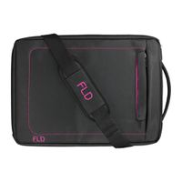 FLD 15 inch Laptop Bag - Pink