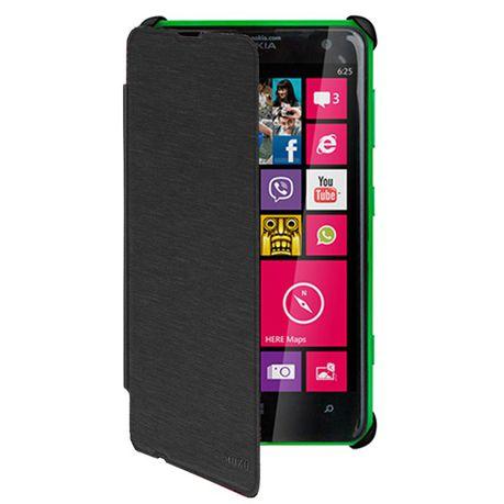 size 40 ce397 7a34d Mozo Nokia Lumia 625 Flip Cover - Black