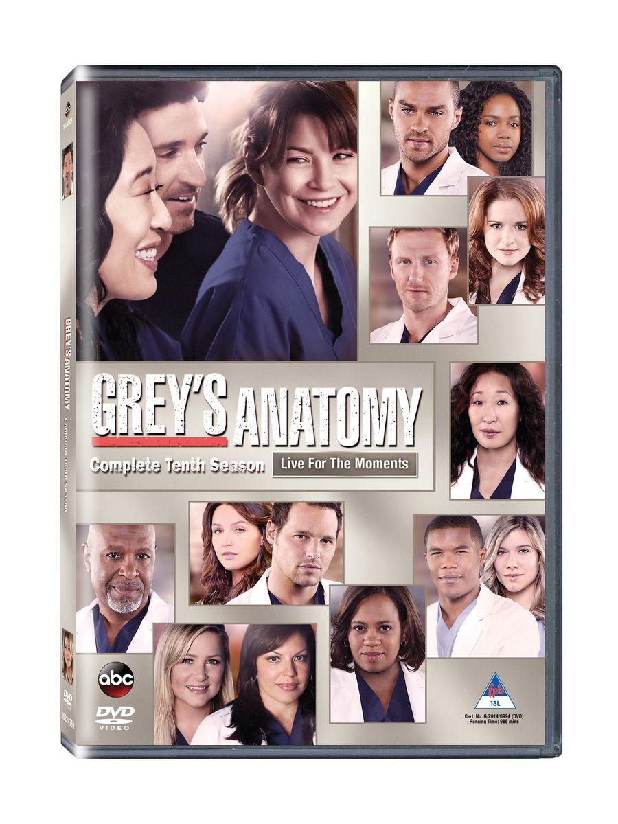 Greys Anatomy Complete Season 10 Dvd Buy Online In South Africa