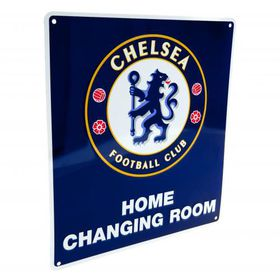 Chelsea F.C. Home Changing Room Sign