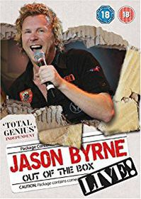 Jason Byrne: Out of the Box - Live (DVD)