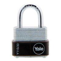 Yale Laminated Padlock 30mm