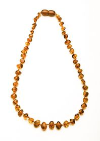Baltic Amber - Teething Necklace - Cognac