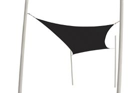 Coolaroo - Extreme Shade Sail Rectangle 5 x 3m - Charcoal