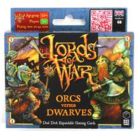 Black Box Games - Lords of War Orcs versus Dwarves Duel Deck Expandable Gaming Cards