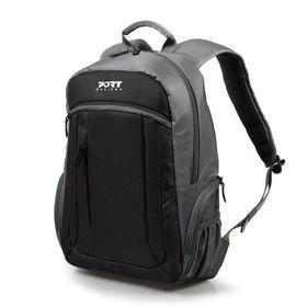 """Port Valmorel 15.6"""" Laptop Backpack - Black"""