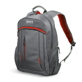 "Port Megeve 15.6"" Laptop Backpack - Red"