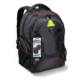 "Port Courchevel 14/15.6"" Laptop Backpack - Black"