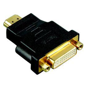 Hama HDMI Plug DVI Socket Gold-plated