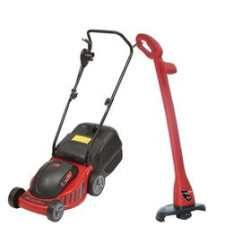 Lawn Star -  Electric Lawnmower & Trimmer Combo