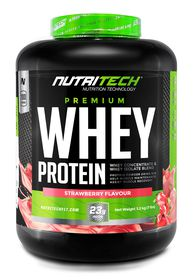 Nutritech Premium Pure Whey - Strawberry 3.2kg