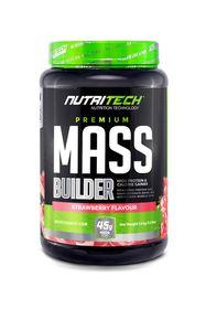 Nutritech Premium Mass Builder - Strawberry 1.5kg