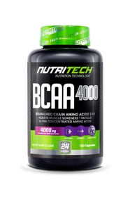 Nutritech BCAA 4000 - 120 Capsules