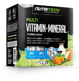 Nutritech Multi Vitamin and Mineral Combo Pack