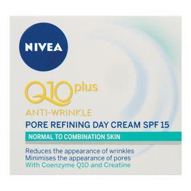 Nivea Visage Q10 Plus Pore Refining Day Cream SPF15 - 50ml