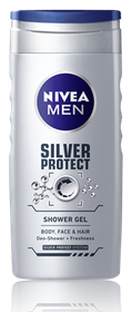 Nivea Silver Protect Shower Gel - 250ml
