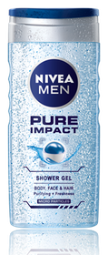 Nivea Men Pure Impact Shower Gel - 250ml