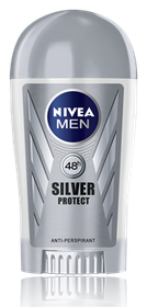 Nivea Men Deodorant Stick Silver Protect Roll On - 40ml