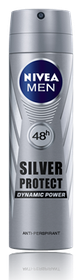 Nivea Men Deo Silver Protect Aerosol - 200ml